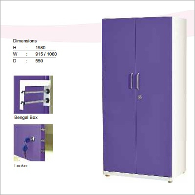 2 Door Steel Almirah