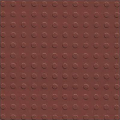 Dot Terracotta parking tiles