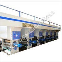 Shaftless Rotogravure Printing Machine