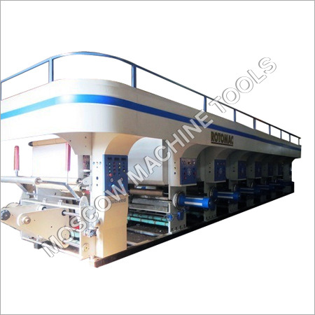 Heavy Duty Shaftless Rotogravure Printing Machine