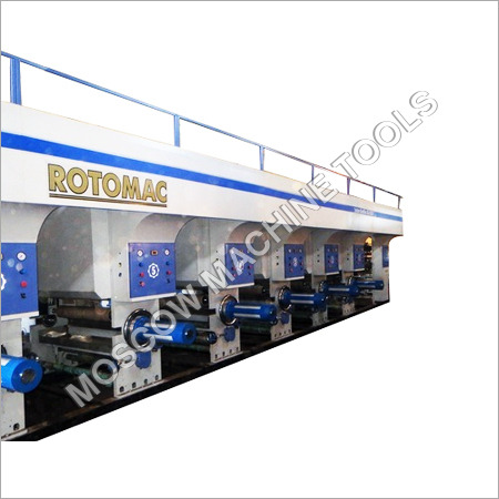 High Speed Shaftless Rotogravure Printing Machine