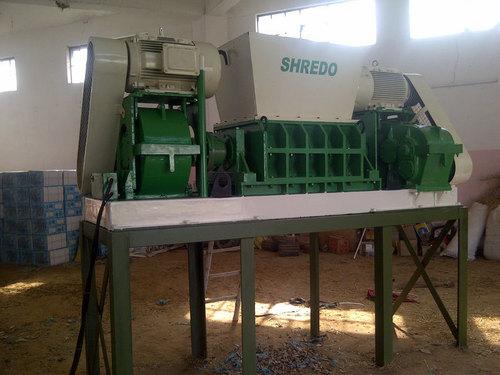 Concrete shredder