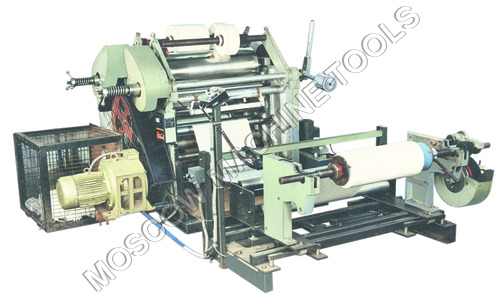 Drum Slitter Cum Surface Rewinder Machine