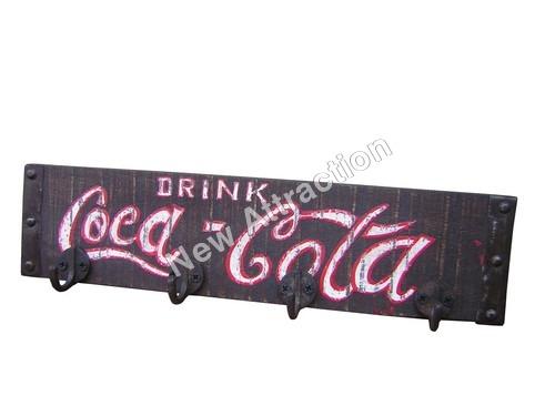 Coco Cola Logo Hooks