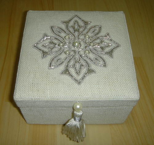 Zari Jewellery Boxes