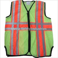Metro Florescent Reflective Jacket: Model No. SJ-1406