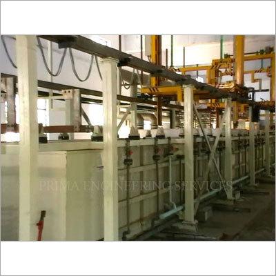 Semi Automatic Plating Plants