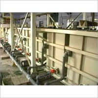 Electroplating Process Tanks