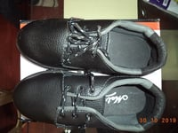 Safety Shoes MICRO with Steel Toe: Model No. SS-1607