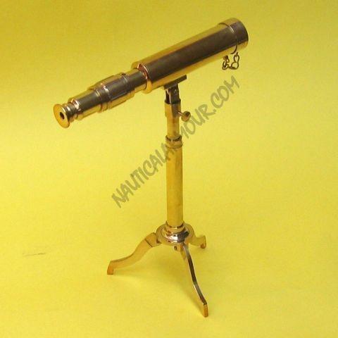 Telescope, Tripod Brass size 9