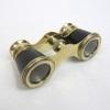 Brass Opera Binoculars Leather Bound SIZE:4''