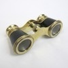 Brass Opera Binoculars Leather Bound SIZE:4''