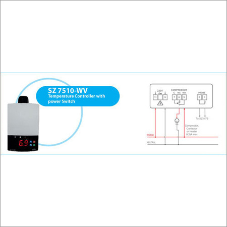 Temperature Controllers With 10A & 20A Relay