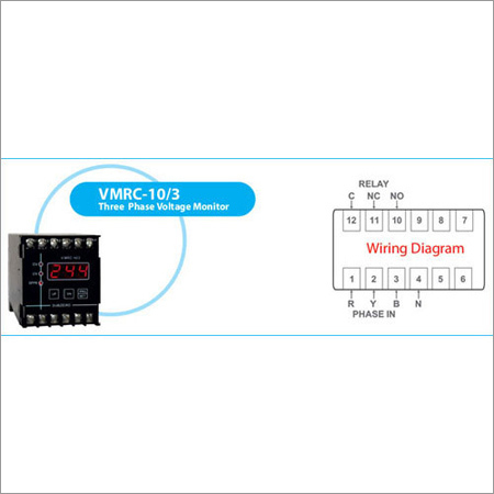 Three Phase Voltage Monitors