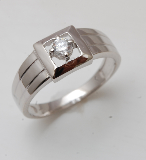 CZ solitair 925 silver mens ring,Cheap mens jewelry wholesale,mens jewelry manufacturer