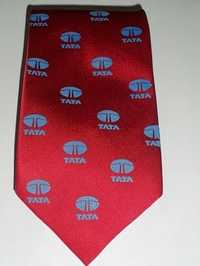 Company Logo Printed Corporate Ties