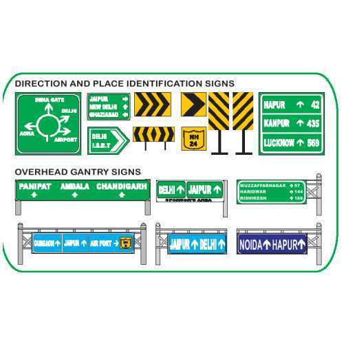 informatory Road Signages