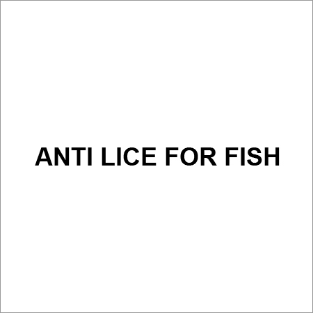Fish AntiLice Nutritional Supplement