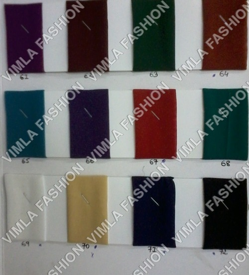 Plain Georgette Fabrics Catalogs