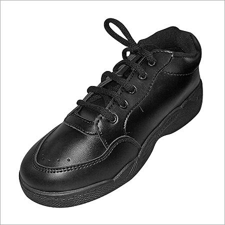 Black School Time Shoes