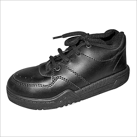 Kids Black School Shoes