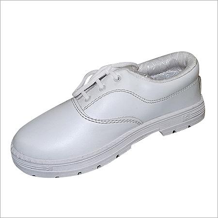 Boys White School Shoes