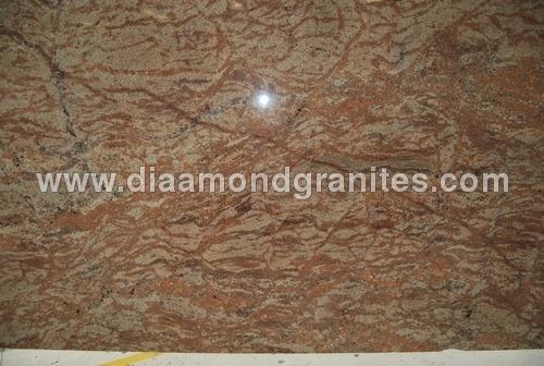 Golden Oak Granite Slabs
