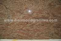 Golden Oak Granite Slabs