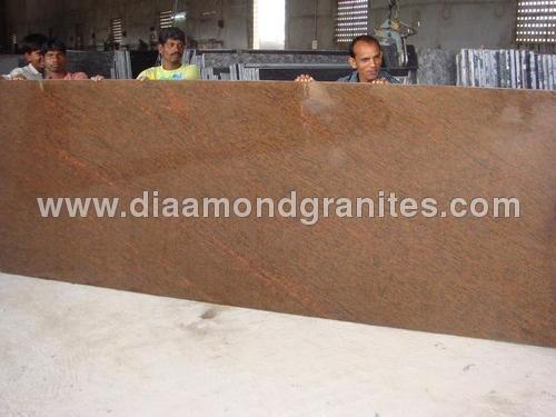 RedWine Granite Slabs