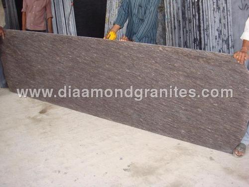 Teak Brown Granite Slabs