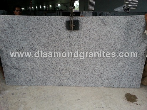 White Galaxy Granite Slabs