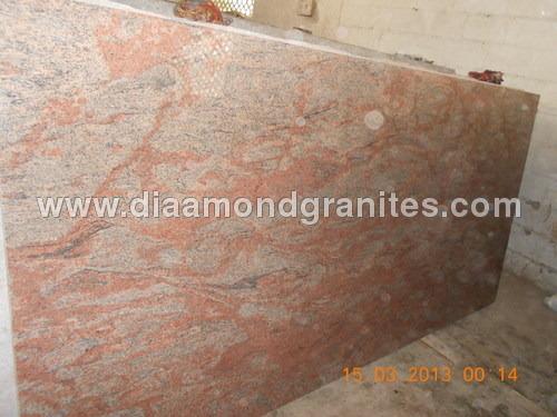 Pink Jubrana Granite Slabs