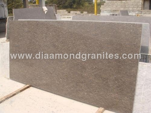 Sparkle Brown Granite Slabs
