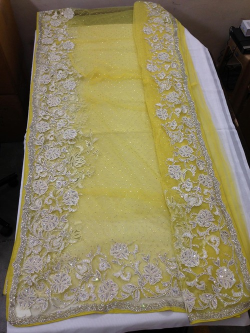 Exclusive Bridal Yellow Sarees
