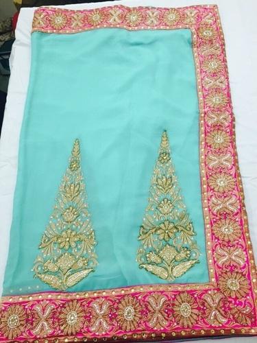 Indian Chiffon Sarees