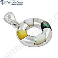 Unique Pearl Silver Pendant