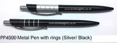 Pen Metal with Rings