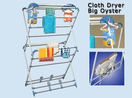 Cloth Dryer Big Oyster