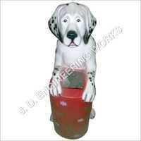 Multi Color Dog Dustbin