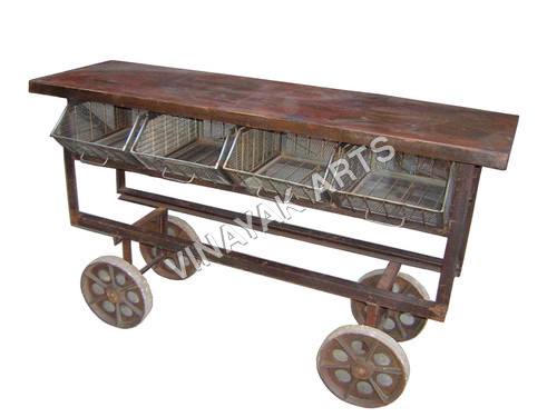 Industrial Planter Trolley