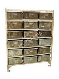 Industrial Drawer Storage