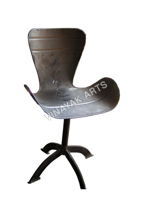 Wrought Iron Office Chair