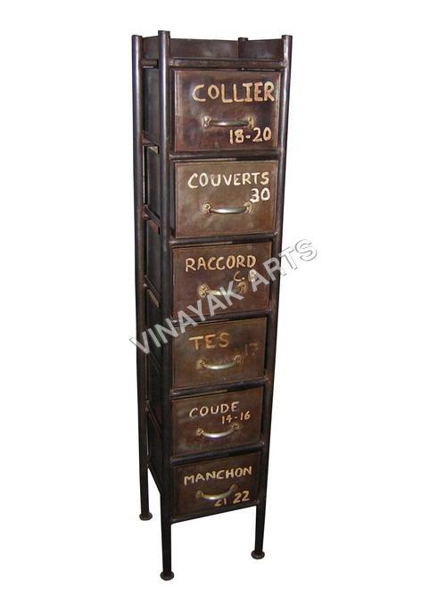 Industrial Furniture 6 drawer sideboard