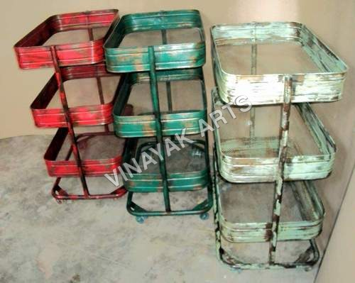 Industrial 3 tier Trolley