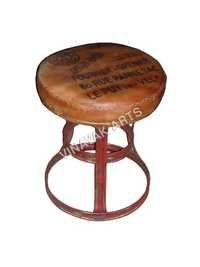 Recycled Metal Stool