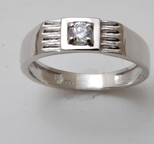 single stone cz diamond ring,single stone jewelry,mens ring design