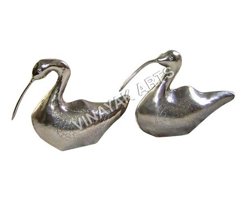 Decorative Metallic Duck