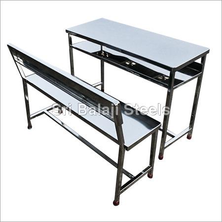Full SS Desk Bench
