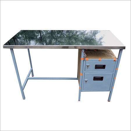 Stainless Steel Office Table