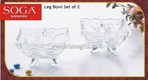 Leg Bowl Set of 2